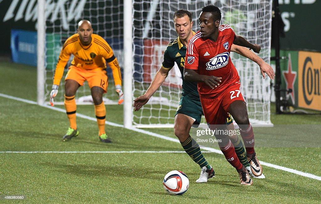 FC Dallas v Portland Timbers - Western Conference Finals - Leg 1