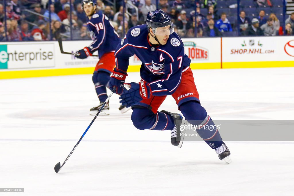 Edmonton Oilers v Columbus Blue Jackets : News Photo