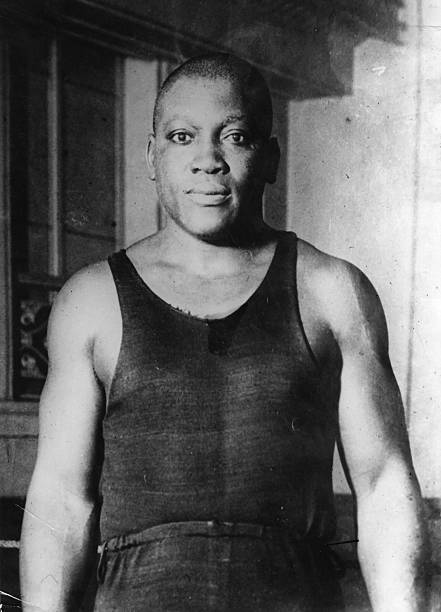 Jack Johnson of the USA, one of the greatest yet most...