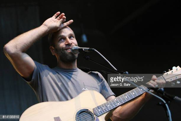 Jack Johnson performs at Fiddler's Green Amphitheatre on July 13 2017 in Englewood Colorado