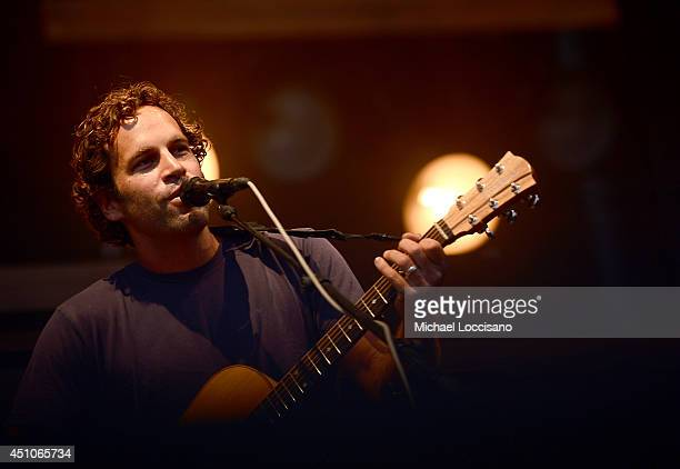 Jack Johnson performs onstage during day 4 of the Firefly Music Festival on June 22 2014 in Dover Delaware