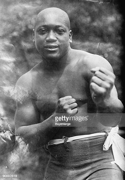 Jack Johnson 'the Galveston Giant' Heavyweight Champion of the World