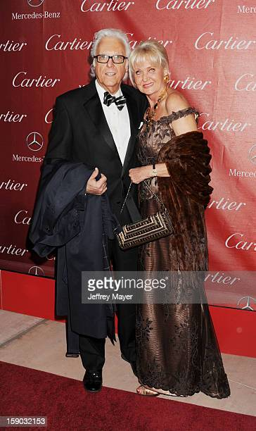 Jack Jones and Eleonora Jones arrive at the 24th Annual Palm Springs International Film Festival Awards Gala at Palm Springs Convention Center on...