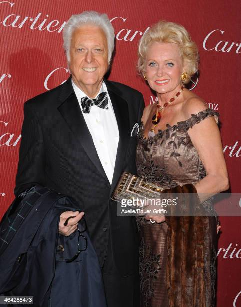 Jack Jones and Eleonora Jones arrive at the 25th Annual Palm Springs International Film Festival Awards Gala at Palm Springs Convention Center on...