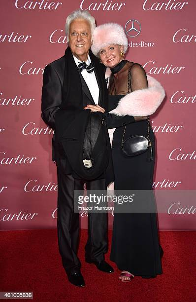 Jack Jones and Eleonora Jones attend the 26th Annual Palm Springs International Film Festival Awards Gala at Parker Palm Springs on January 3 2015 in...