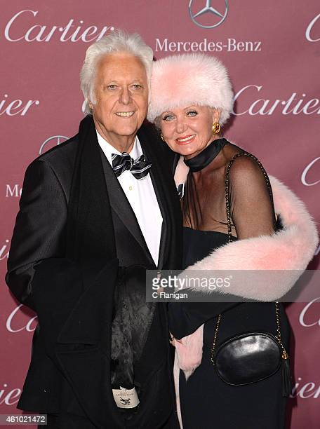 Jack Jones and Eleonora Jones attend the 26th Annual Palm Springs International Film Festival Awards Gala at Palm Springs Convention Center on...