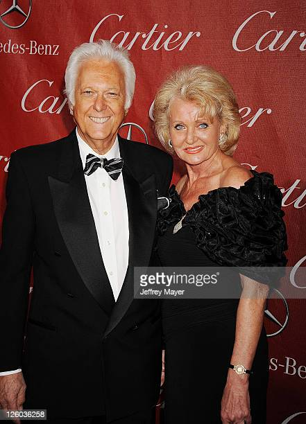 Jack Jones and Eleonora Jones attends the 22nd Annual Palm Springs International Film Festival Awards Gala at Palm Springs Convention Center on...