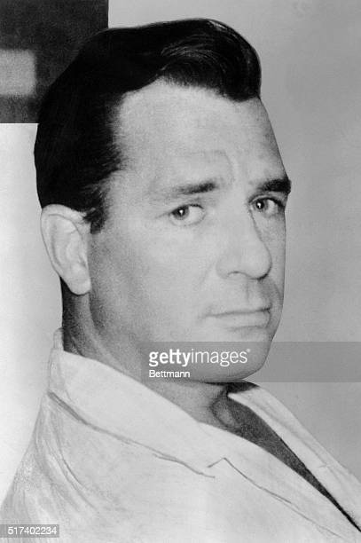 Jack Kerouac American novelist and spokesman for the Beat generation is shown in this head and shoulders photograph