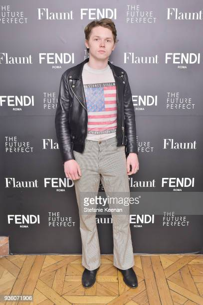 Jack Kilmer attends FENDI x Flaunt Celebrate The New Fantasy Issue at Casa Perfect on March 21 2018 in Beverly Hills California