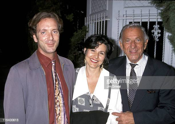 Jack Klugman Adam Klugman and Nancy NyeKlugman during Penny Marshall Hosts Book Party for Garry Marshall 'Wake Me When It's Funny How to Break into...