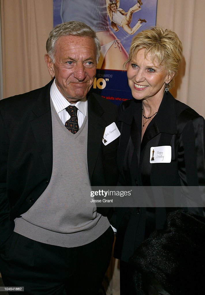 Jack Klugman and Peggy Crosby during Reception for Blake Edwards, Honorary Academy Award Recipient - February 26, 2004 at The Annex, Hollywood & Highland in Hollywood, California, United States.