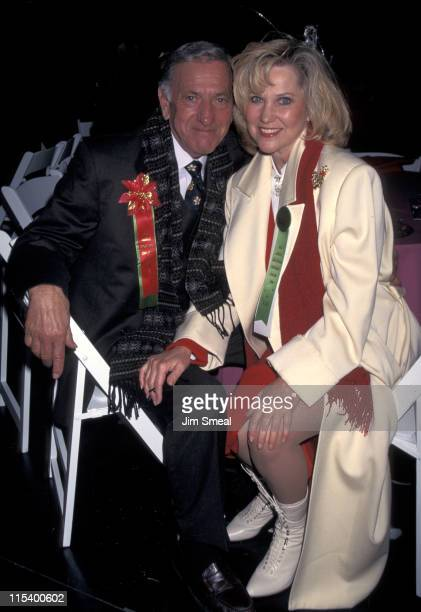 Jack Klugman and Peggy Crossi during 65th Annual Hollywood Christmas Parade in Hollywood California United States