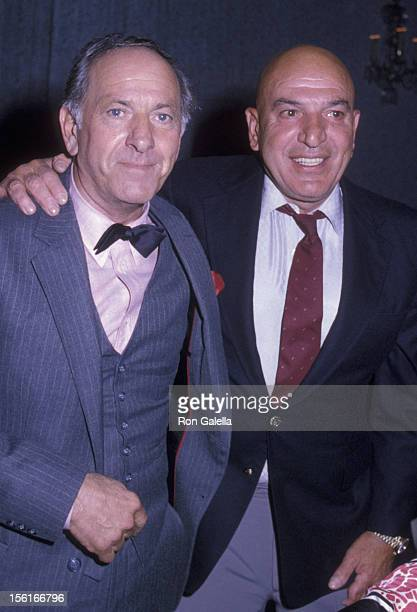 Jack Klugman and Telly Savalas attend at the Sheraton Universal Hotel in Universal City California