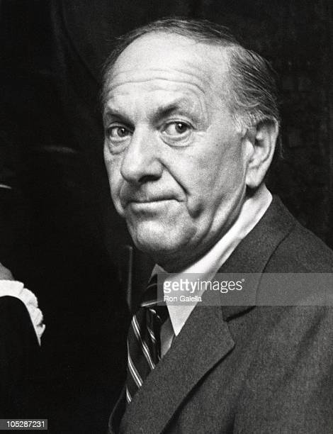 Jack Klugman during Playboy Magazine's 25th Anniversary Party at Playboy Club in Los Angeles California United States