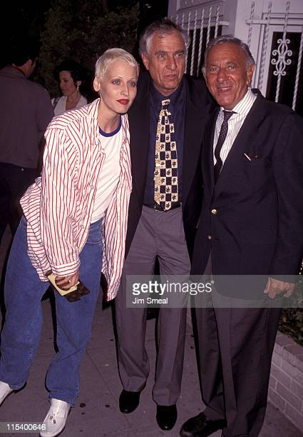 Jack Klugman Garry Marshall and Lori Petty during Penny Marshall Hosts Book Party for Garry Marshall Wake Me When It's Funny How to Break into Show...