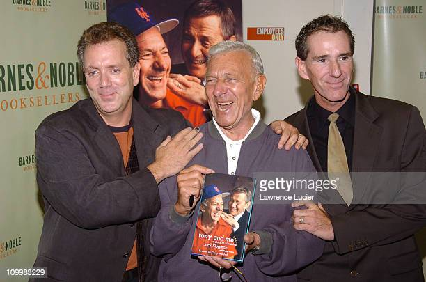 Jack Klugman with sons Adam Klugman and David Klugman