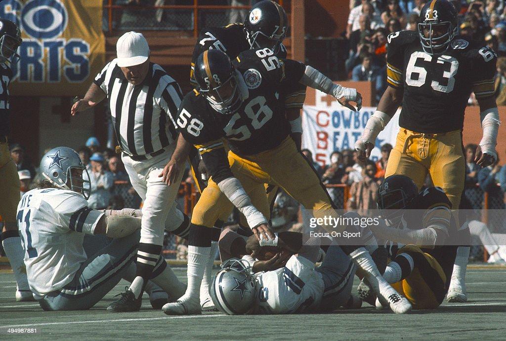 Super Bowl X - Dallas Cowboys v Pittsburgh Steelers : News Photo