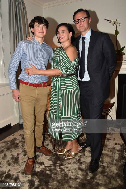 Jack Lambros Karen Duffy and John Lambrose attend The Policewomen's Bureau By Edward Conlon Book Launch on November 25 2019 in New York City