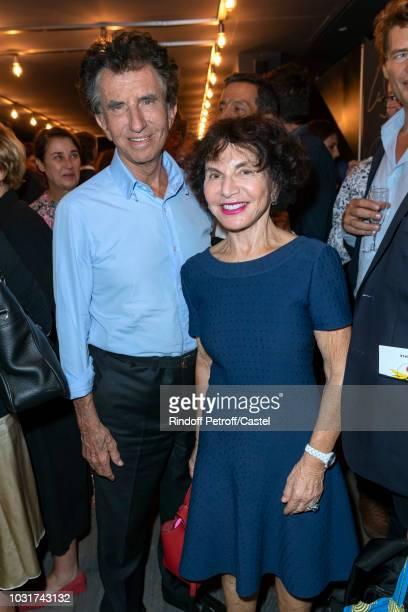 Jack Lang and his wife Monique attend La Scala reopens on September 11 2018 in Paris France