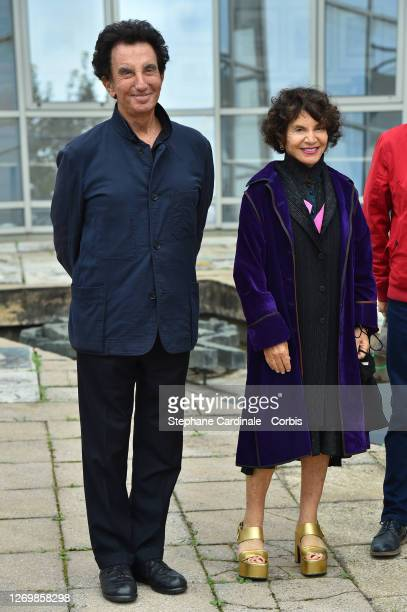 """Jack Lang and Monique Lang attend """"Tribute To Lebanese Artists"""" at the 13th Angouleme French-Speaking Film Festival on August 31, 2020 in Angouleme,..."""