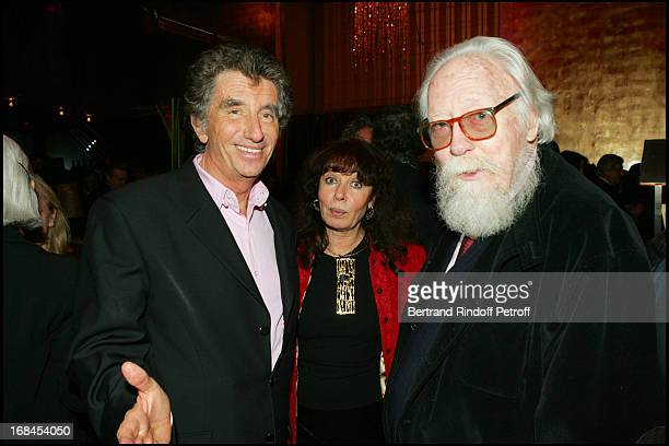 Jack Lang Nisa Chevenement and Francois Nourissier at 100th Episode Of 'Campus' Of Guillaume Durant At Le Cafe De L'Homme Restaurant At The Trocadero