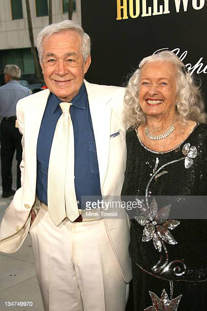 Jack Larson and Noel Neill during Hollywoodland Los Angeles Premiere Arrivals at Academy of Motion Picture Arts and Sciences in Hollywood California...
