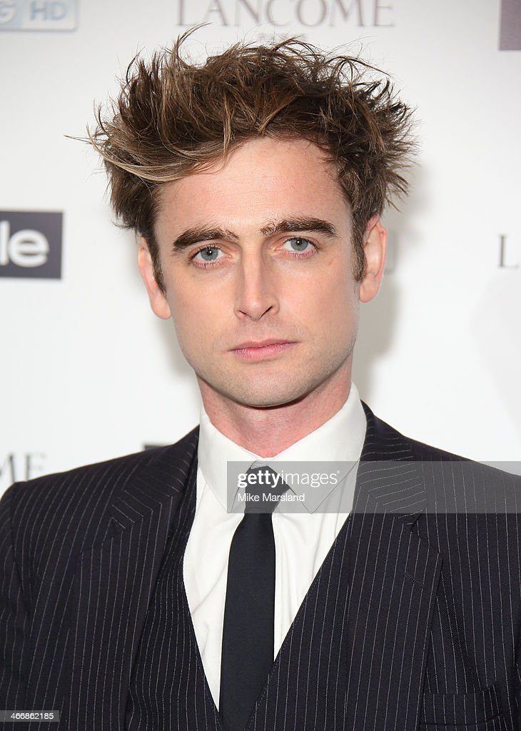 Jack Laskey attends InStyle magazine's The Best of British Talent pre-BAFTA party at Dartmouth House on February 4, 2014 in London, England.