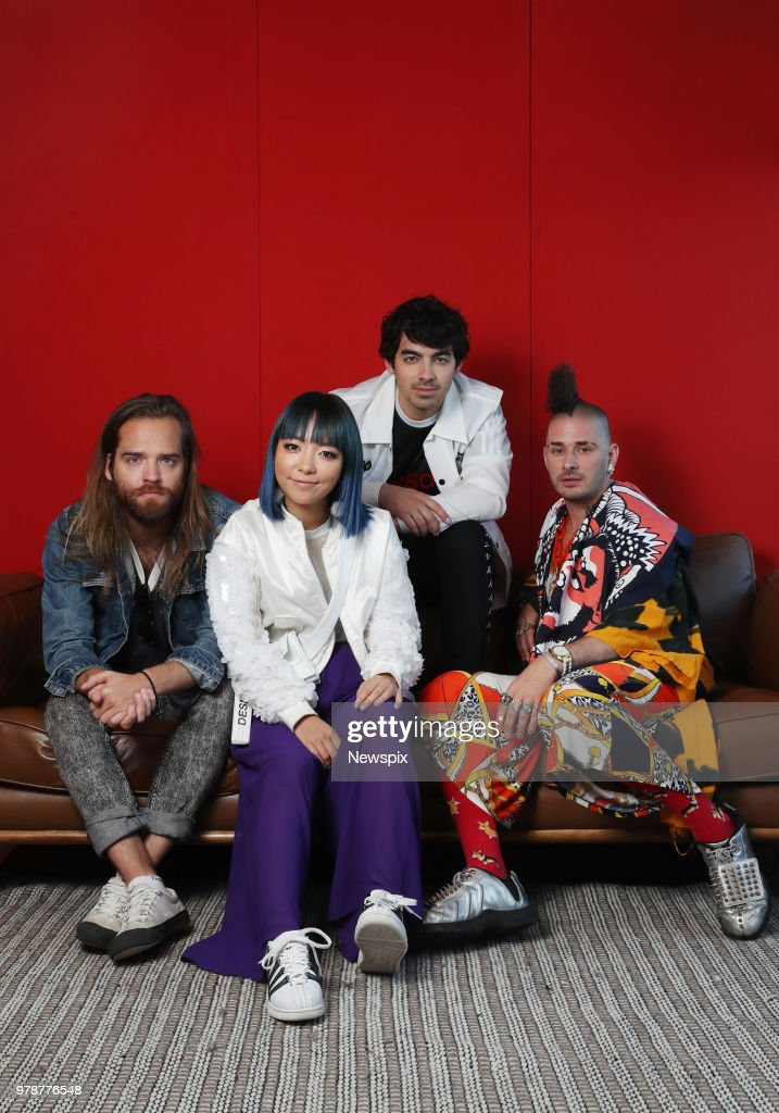 DNCE Sydney Portrait Shoot