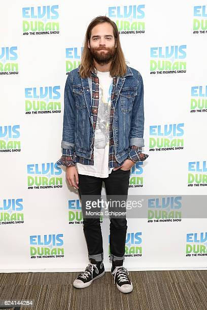 Jack Lawless of band DNCE poses for a photo when DNCE visit The Elvis Duran Z100 Morning Show at Z100 Studio on November 18 2016 in New York City