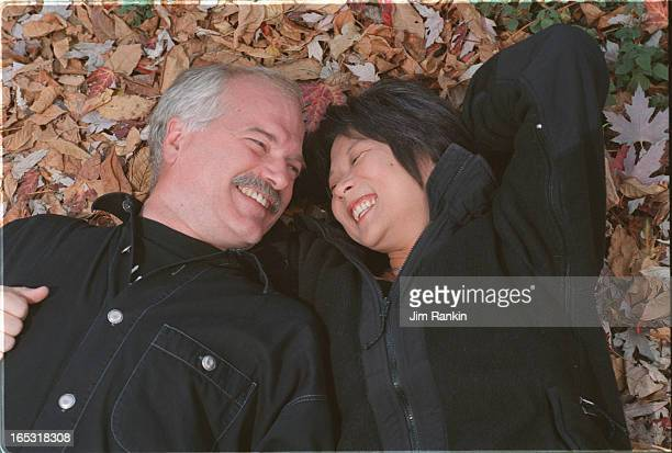 Jack Layton and Olivia Chow in their Kensington Marketarea house Pictured eating breakfast in their unique kitchen furnished with antique store...
