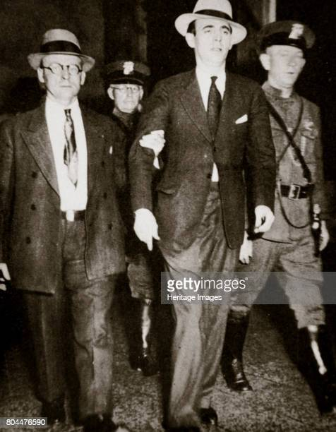 Jack 'Legs' Diamond temporarily in the hands of the law in Troy New York USA July 1931 Diamond was a Prohibitionera IrishAmerican gangster in New...