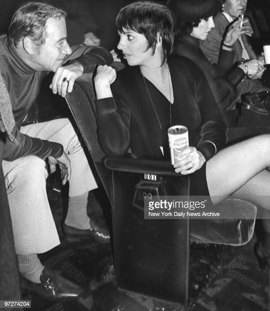 Jack Lemmon and Liza Minnelli during rehearsal at Actors Fund