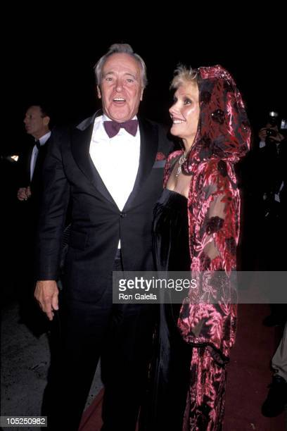 Jack Lemmon and wife during 63rd Annual Academy Awards After Party at Spago's Hosted by Swifty Lazar at Spagos in West Hollywood California United...