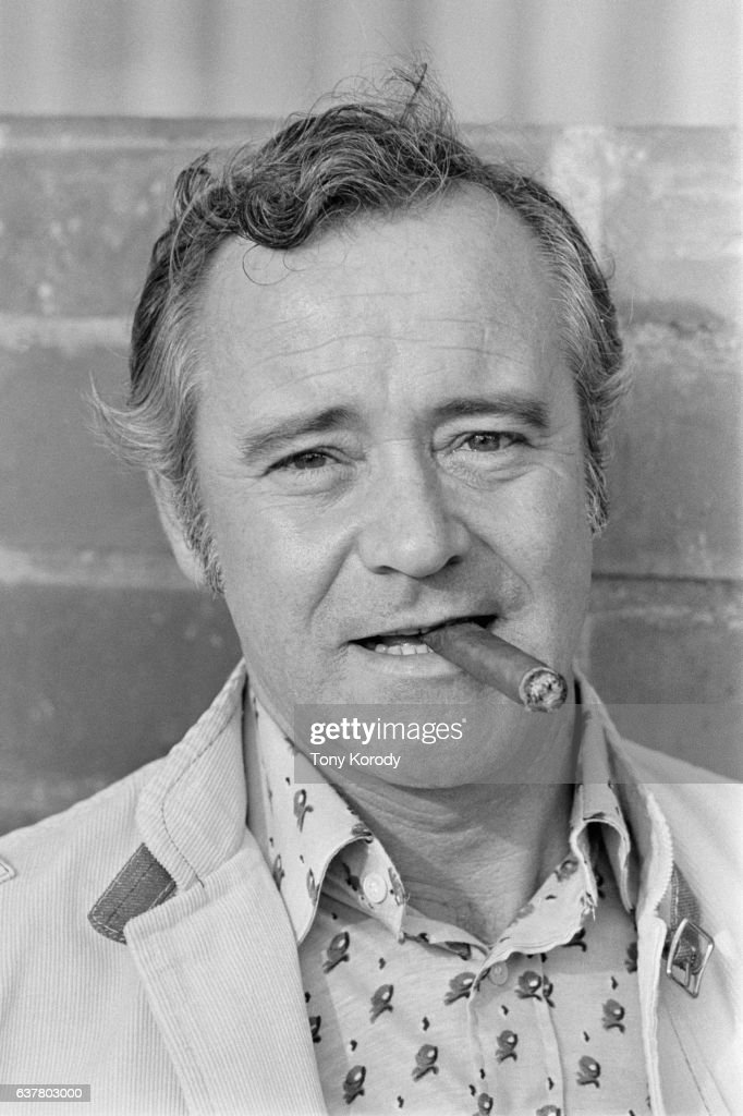 Jack Lemmon at Home