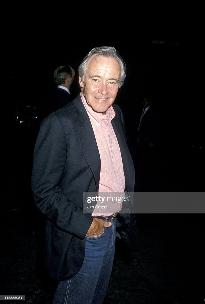 Jack Lemmon Arrives at Spago's