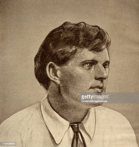 Jack London 18761916 American writer From the book 'The Masterpiece Library of Short Stories American Volume 16'