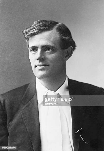 Jack London American novelist Photograph January 1906