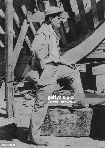 Jack London American Novelist Portrait 1905