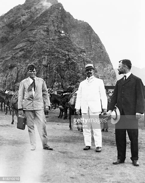 Jack London in Hawaii or Panama photo ca 1911