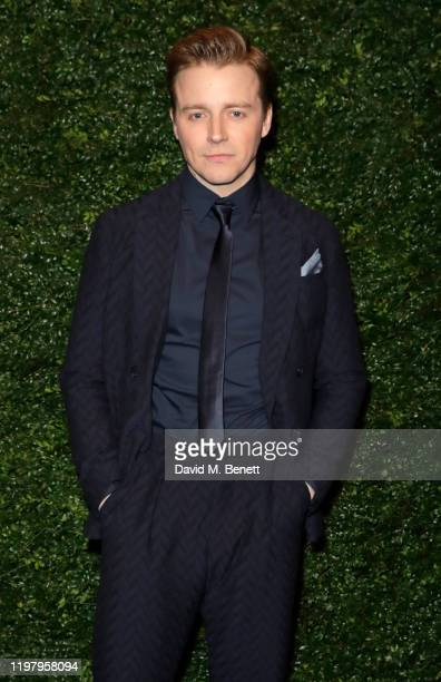 Jack Lowden arrives at the Charles Finch CHANEL PreBAFTA Party at 5 Hertford Street on February 1 2020 in London England