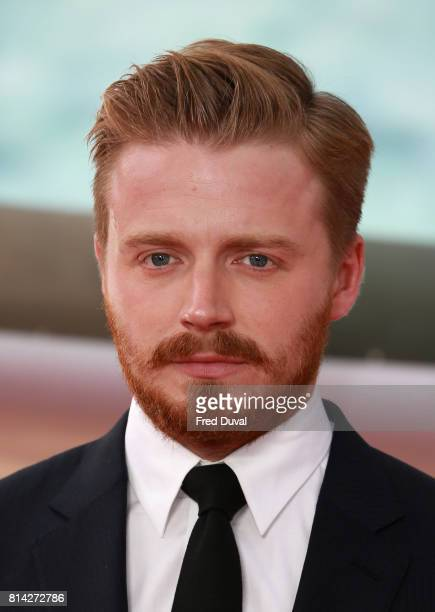 Jack Lowden arrives at the 'Dunkirk' World Premiere at Odeon Leicester Square on July 13 2017 in London England