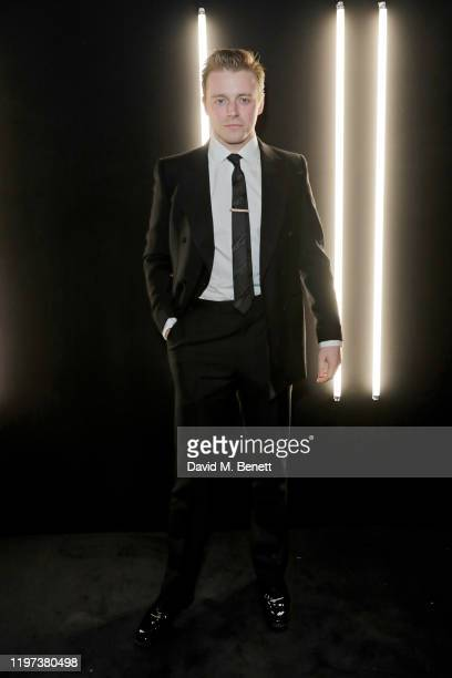 Jack Lowden attends the dunhill Dylan Jones PreBAFTA dinner at dunhill Bourdon House on January 29 2020 in London United Kingdom