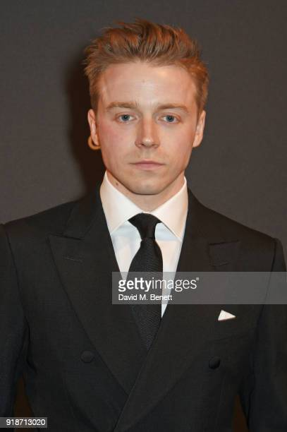 Jack Lowden attends the Dunhill GQ preBAFTA filmmakers dinner and party cohosted by Andrew Maag Dylan Jones at Bourdon House on February 15 2018 in...