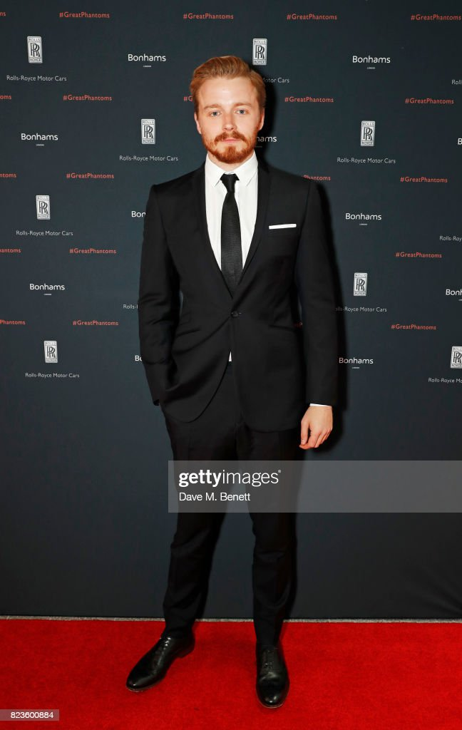 Jack Lowden attends the global debut of the new Rolls-Royce Phantom at Bonhams on July 27, 2017 in London, England.