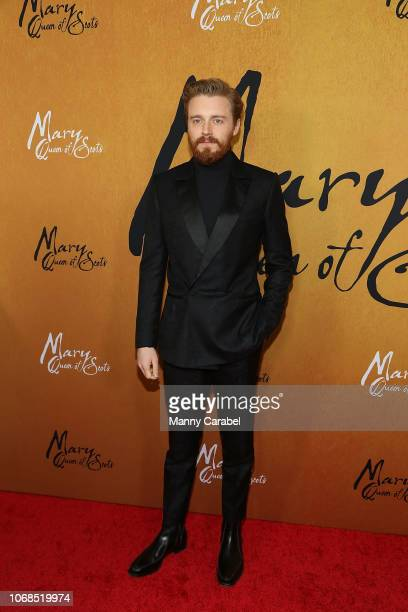 Jack Lowden attends the Mary Queen of Scots New York Premiere at the Paris Theater on December 4 2018 in New York City
