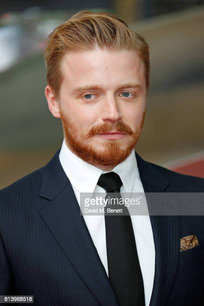 Jack Lowden attends the World Premiere of 'Dunkirk' at Odeon Leicester Square on July 13 2017 in London England
