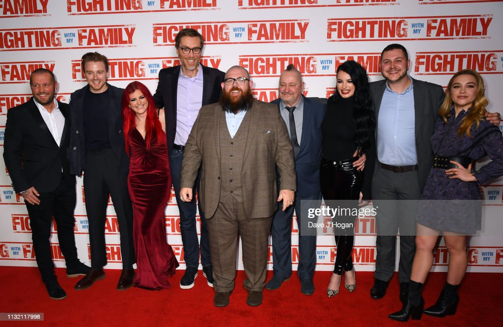 """Fighting With My Family"" UK Premiere - VIP Arrivals : News Photo"
