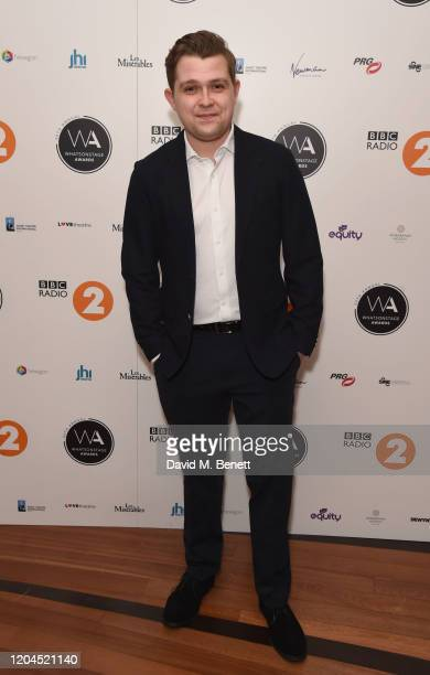 Jack Loxton attends The WhatsOnStage Awards 2020 at The Prince of Wales Theatre on March 1 2020 in London England