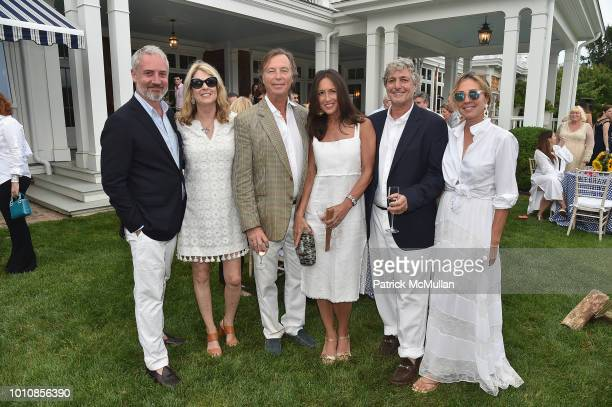 Jack LynchAnn Colley Bruce Colley Teresa Colley Edward Taylor and Donna Taylor attend the RitaHayworthGala Hamptons Kickoff Event hosted by...