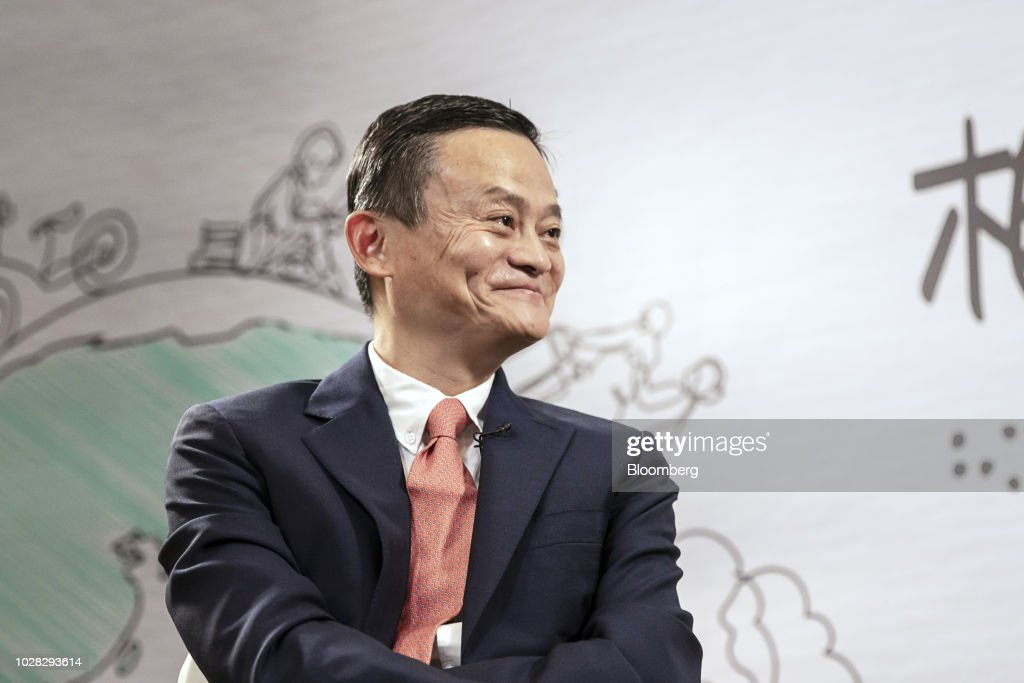 Exclusive Interview With Billionaire Jack Ma at Alibaba's Charity Event : News Photo